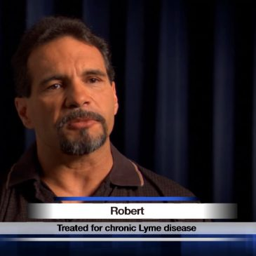 Robert had a brain tumor, not chronic Lyme disease